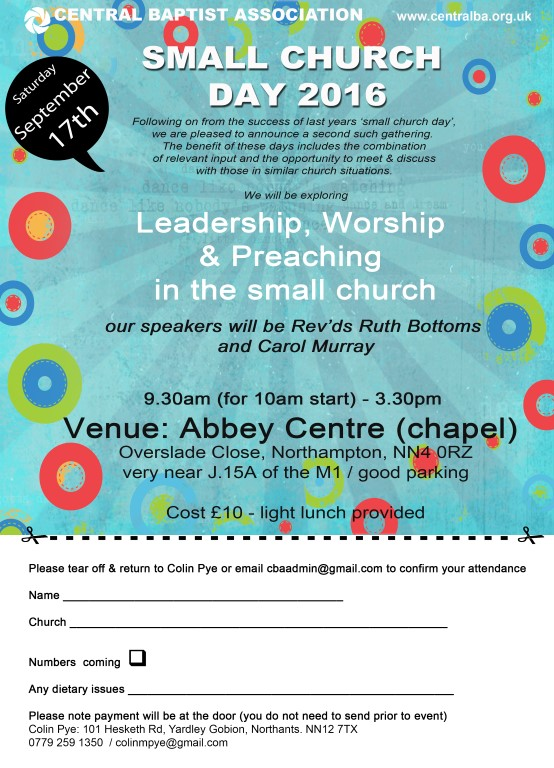 Small Church Day 2016 poleaflet (Medium)